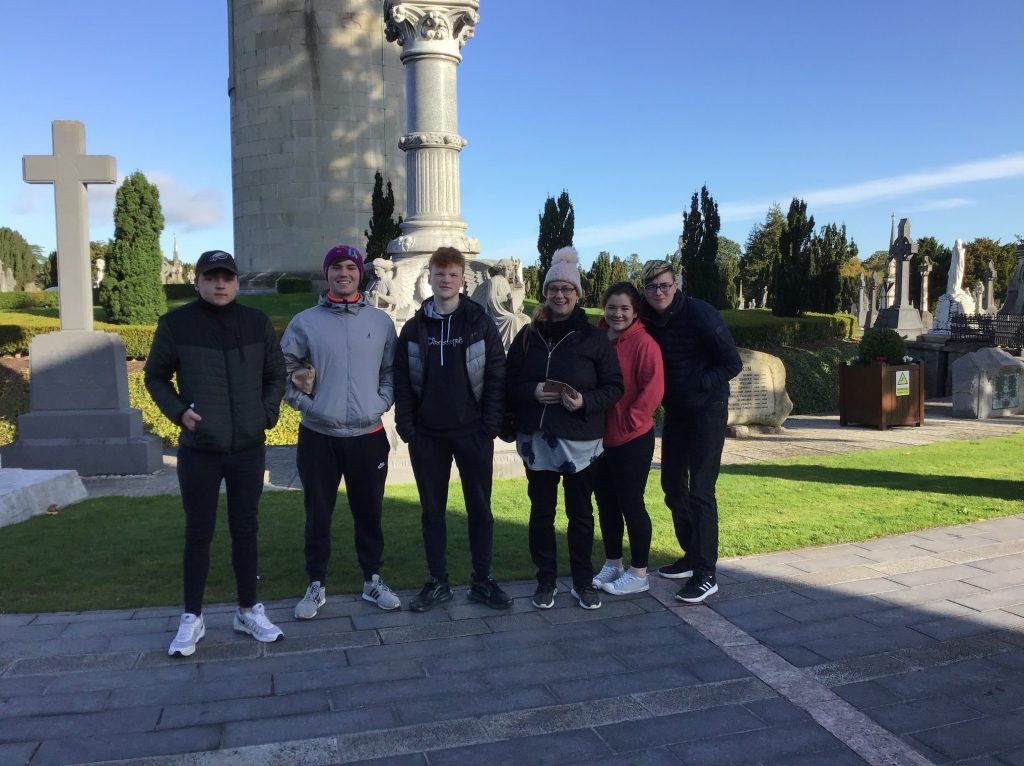 Visit to Glasnevin October 2019